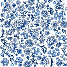 porcelain, Chinese, pattern, blue...