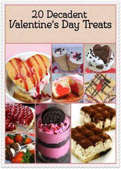 21 Amazing Must Try Decadent Valentine Desserts