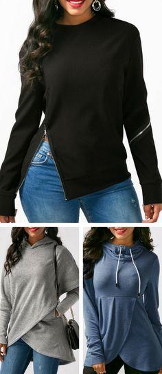 hoodie, hoodies, cute hoodie, hoodie for women, womens hoodie, grey hoodie, black hoodie, fall winter hoodie, wrap hoodie, cute hoodies, modest hoodie, hoodies, rosewe hoodie, free shipping worldwide at Rosewe.com.#hoodie