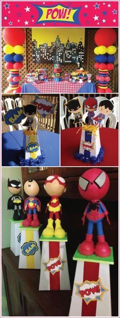 Super-Hero-Party with blumeboxes