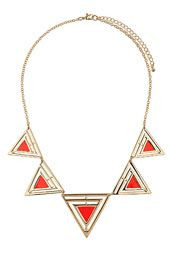 Geo Triangle Collar