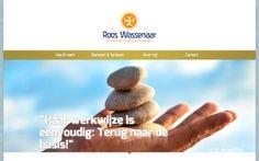 RoosWassenaar.nl; Praktijk voor Holistisch advies, coaching, observatie en begeleiding.   Design door BdeB Grafische Vormgeving (bdeb.nl). Techniek door Itinko Internet. #TYPO3 #SPA #Responsive