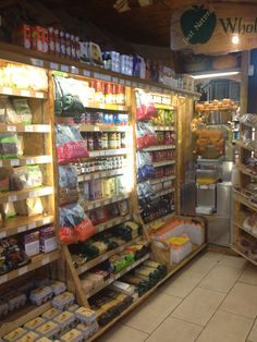 Just Natural Grocery, Sheffield...i love tiny stores