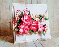 agnieszkapasjonata: E jak Ephesite. Cardmaking, Stampin Up, Stamps, Floral Wreath, Shabby, Greeting Cards, Scrapbooking, Paper Crafts, Gift Wrapping