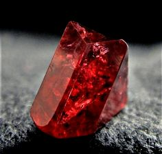 Spinel from Myanmar. It looks a lot like Ruby. Minerals And Gemstones, Rocks And Minerals, Natural Gemstones, Cool Rocks, Ruby Stone, Rocks And Gems, Buddhism, Mother Gifts, Stones And Crystals