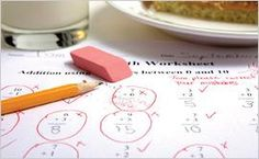 Math tips for children with ADHD and math learning disabilities.