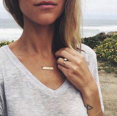 Vedder & Vedder bar necklace