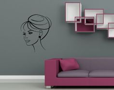 Wall Vinyl Decal Sticker Art Design Woman Face Female Portrait Room Nice Picture Decor Hall Wall Chu884 Thumbs up decals,http://www.amazon.com/dp/B00JC28JNM/ref=cm_sw_r_pi_dp_FpTHtb1BXJ8WD9QF