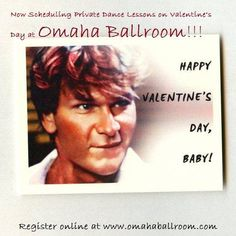 Dance lessons at Omaha Ballroom on Valentine's Day is great idea!