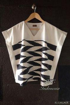 Fzj Batik Fashion, Abaya Fashion, Fashion Sewing, Blouse Batik, Blouse Dress, Casual Skirts, Casual Outfits, Fashion Outfits, Batik Kebaya
