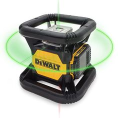 DEWALT 20-Volt Lithium-Ion Green Rotary Laser Level