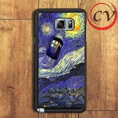 Doctor Who Tardis Samsung Galaxy Note 7 Case