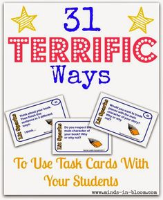 31 Terrific Ways to