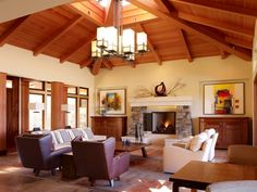 Wood-Ceiling-Designs-For-Living-Room