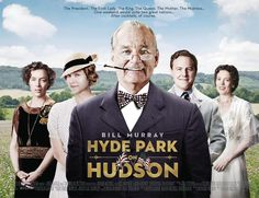 Bill Murray is Franklin D. Roosevelt in Hyde Park On Hudson Movie