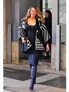 Blake Lively, casual dans les rues de New York