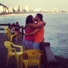 """""""Miam miam, j'ai faim d'amour"""", Mirante do Leblon — 2012"""