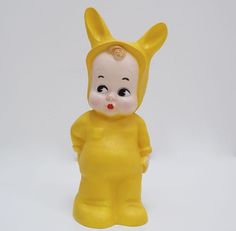 Freshen up your home accessories this spring with Lapin & Me's Baby Rabbit Lamp in Yellow £62