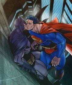 6/24/14 5:27a DC Cómics: Clark Kent and Bruce Wayne Night Out Climbing Walls atlantico.fr