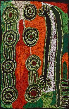 Iyawi Wikilyiri - 'Punu Tjuta' - 66 x 100cm