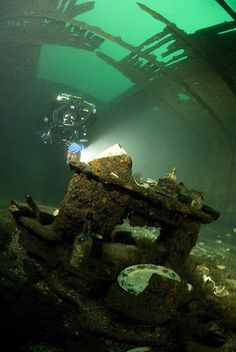 King Horn Shipwreck - Brockville, Lake Ontario