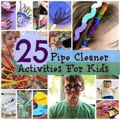 25 Easy DIY Pipe Cleaner Activities for Kids