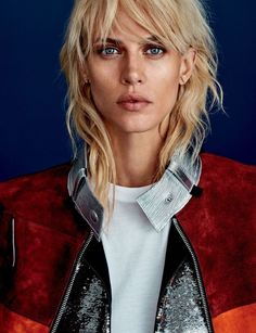 Aymeline Valade is effortless chic for Cover Denmark November 2015 by Rasmus Skousen [editorial] Hair Day, New Hair, Hair Inspo, Hair Inspiration, Hairstyles With Bangs, Cool Hairstyles, Medium Shag Haircuts, Hair Today Gone Tomorrow, Mullet Hairstyle