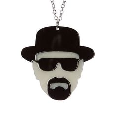 Heisenberg necklace laser cut acrylic by sugarandvicedesigns, £14.00/$22.51USD