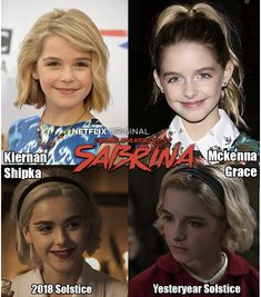 What kind of sorcery is this? Designated Survivor, Mckenna Grace, Kiernan Shipka, Sabrina Spellman, Winter's Tale, Look Alike, Chilling, Documentaries, Movie Tv