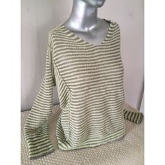 FREE PEOPLE Mint Stripe Side Panel V-neck-FALL! Never worn. Totally sexy , hard to find. Excellent for moving into FALL. Layer it over a long cami    Triangular side panel create a very cool design.  Light mint green and palest violet stripes. The iPhone photos look different in the light but actual color is the close-up.  Easy chic. Never worn this-I'm told its out of my age bracket💥marked down today ⚡️⚡️removing to other sites... Free People Tops