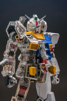 Painted Build: PG 1/60 RX-78-2 Gundam Mechanical Clear ver. - Gundam Kits Collection News and Reviews