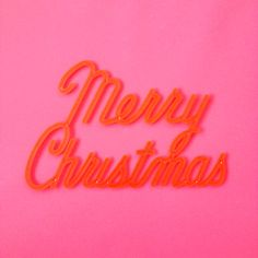 our happy place Christmas Mood, Pink Christmas, Merry Christmas, I Believe In Pink, Merry And Bright, Lettering, Typography, Neon Signs, Happy