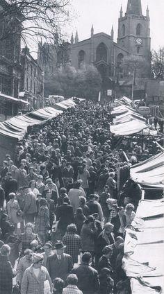 Walsall Market 1971