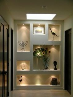 Image result for modern glass recesses in walls