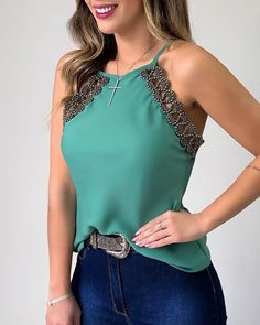 Classy Outfits, Casual Outfits, Fashion Outfits, Womens Fashion, Plus Size Crop Tops, Women's Summer Fashion, Skirt Outfits, Casual Tops, Ideias Fashion