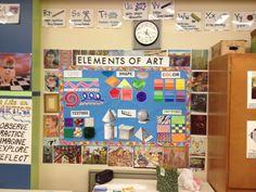 elements of art chart