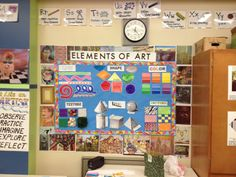 elements of art chart