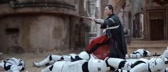 Just watched Rogue One again for the first time since near its release and forgot how much I love Chirrut! Such an interesting character awesome choreographed fighting scenes and perfect dialogue! When the Rebels take them prisoner they all get bags on their heads are you serious? Im blind!https://ift.tt/2O7Kqju