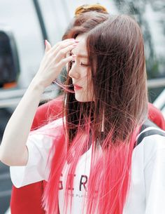 Irene - Red Velvet Wendy Red Velvet, Red Velvet Irene, Seulgi, Kpop Hair Color, Chinese Actress, Japanese Girl, Daegu, Pink Hair, Kpop Girls