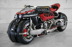 Lazareth LM847, a leaning four-wheeler powered by a 470hp Maserati V8 and with the tail of a Ducati Panigale
