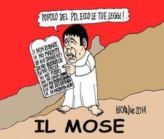 """ITALIAN COMICS - """"Il Mondo in una vignetta"""" di Alfio Krancic: I nuovi profeti"""