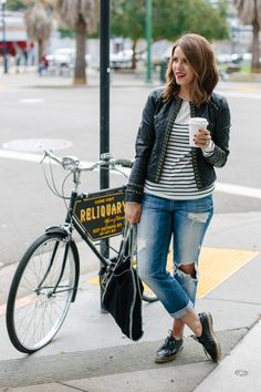 Cycle Chic: San Francisco Essentials Part 1: Leather Jacket
