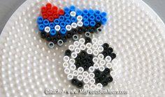 Football - Soccer hama beads by Rachel