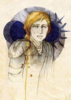 Brienne of Tarth, by Elia Mervi
