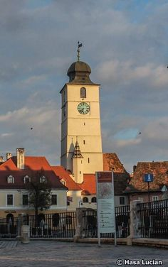 Sibiu,Turnul sfatului, Romania Sibiu Romania, Bucharest Romania, San Francisco Ferry, Places To See, Building, Romania, Atelier, Buildings