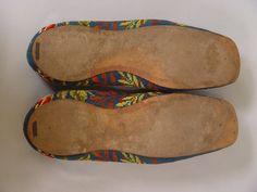 1850s Berlin Work Slippers (soles in kid leather)