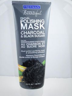 I MUST get this ASAP. I love charcoal for drawing out impurities and the sugar will make it a good scrub. Best of all it's an affordable brand.  Hallelujah! #CharcoalMask Beauty Care, Beauty Skin, Health And Beauty, Makeup Dupes, Skin Makeup, Beauty Secrets, Beauty Hacks, Beauty Products, Beauty Tips
