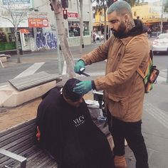 My Modern Metropolis • Barber Nasir Sobhani Spends His Days Off Giving...