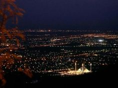 Breath taking view of Islamabad from Margala Hills