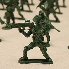 New YC 998-3 100PCS 5cm Soldier Army Troop Figure Battle War DIY Scene Model By KTOY